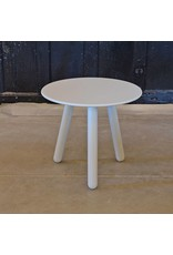 Clay Side Table | White