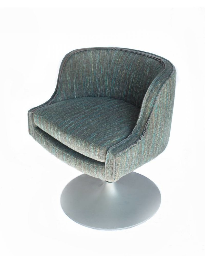 Nixon Swivel Chair  Blue + Green