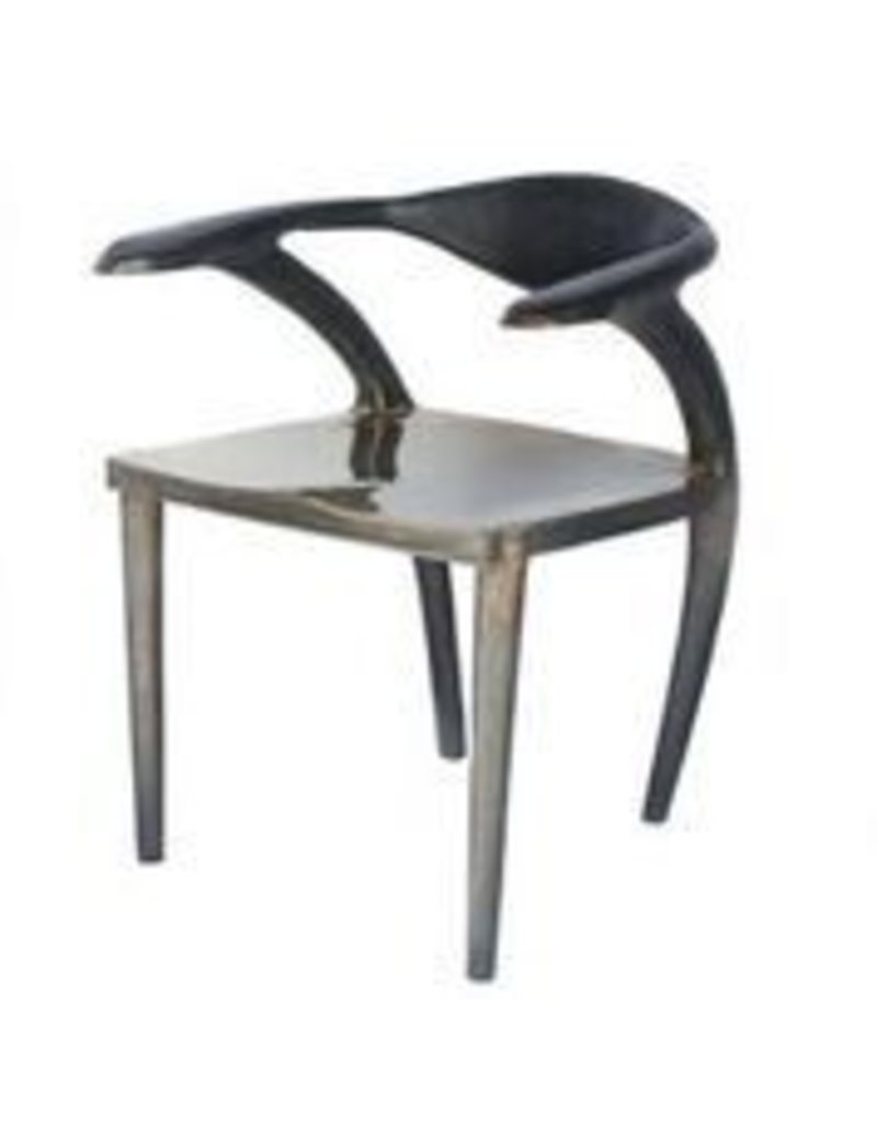 Forged Bronze Dark Frame Dining Chair