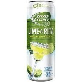 BUDLIGHT Lime-a-rita 25oz (cans)