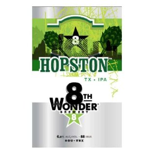 8th Wonder Hopston 12oz Cans 6 pack