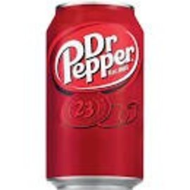 Dr. Pepper 12oz can