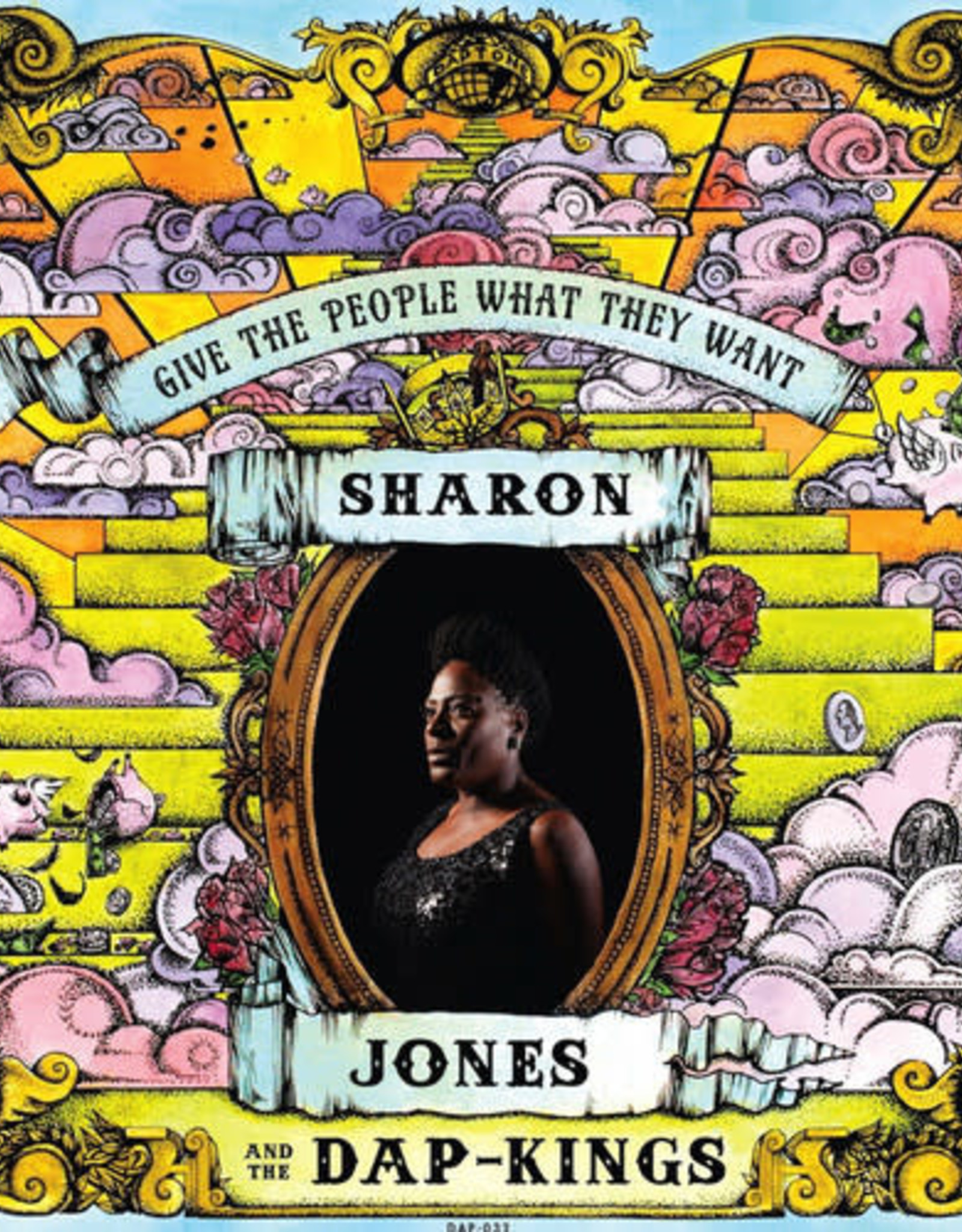 JONES,SHARON & DAP-KINGS / GIVE THE PEOPLE WHAT THEY WANT