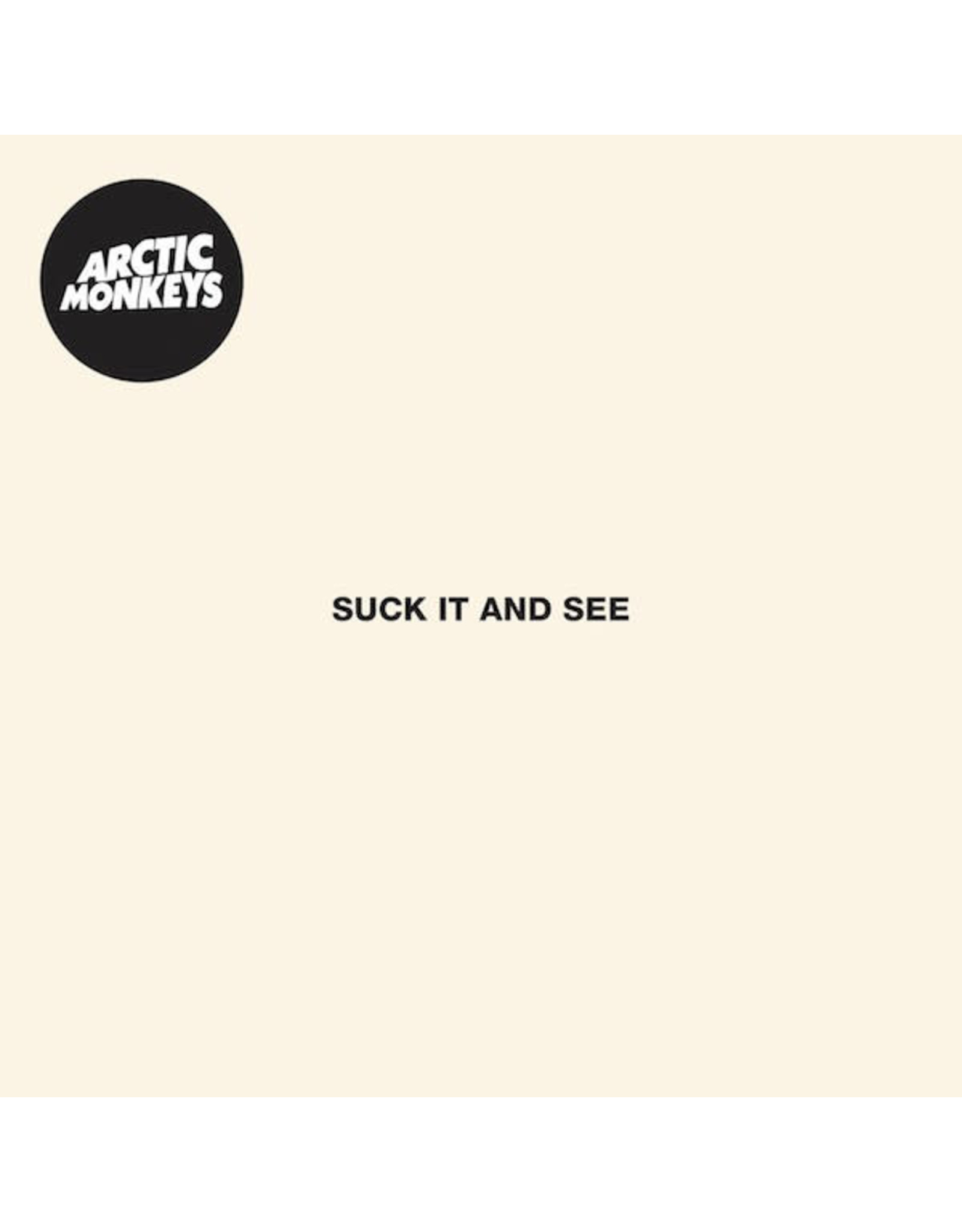 Arctic Monkeys / Suck It And See