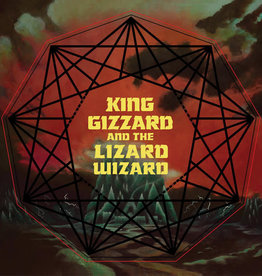 King Gizzard & Lizard Wizard / Nonagon Infinity (Red-Yellow-Black Vinyl)