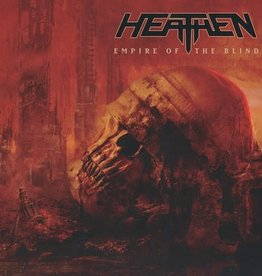 Heathen / Empire Of The Blind (Red & Black Swirl Vinyl)