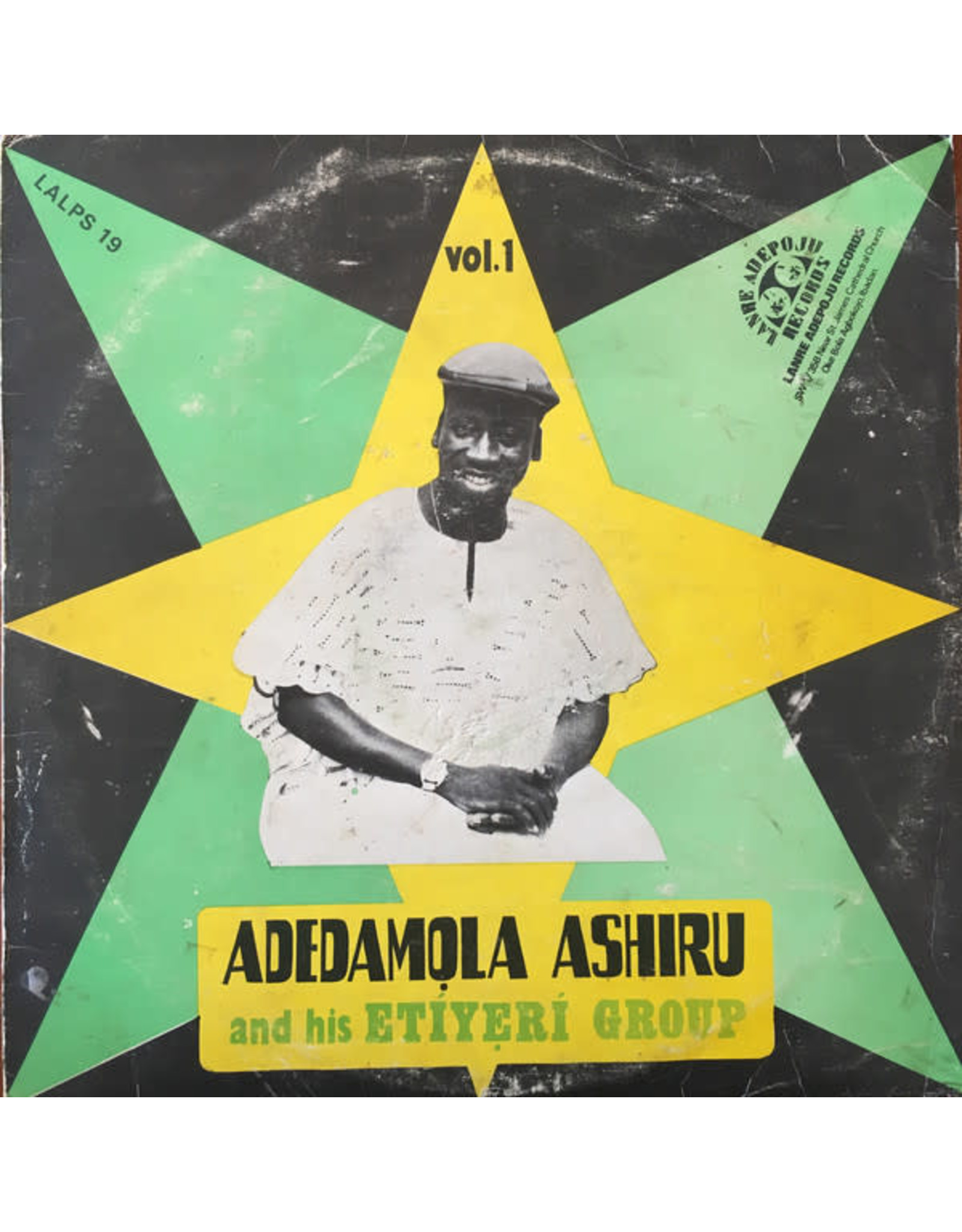 Ashiru, Adedamola & His Etiyeri Group/ VOL 1 (Nigerian Import) (Good+/Good+) (D)