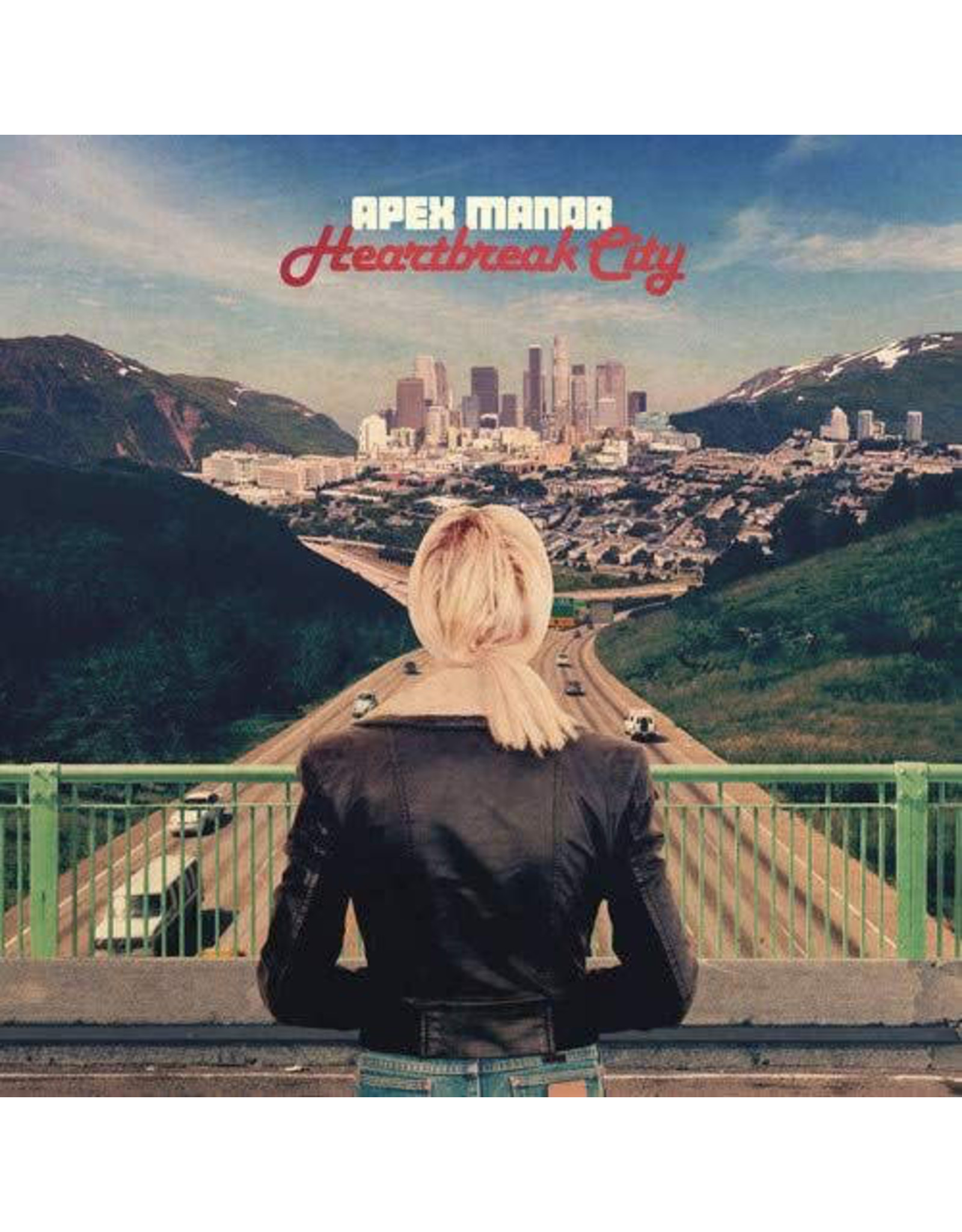 Apex Manor / Heartbreak City (Limited Edition Red Vinyl)