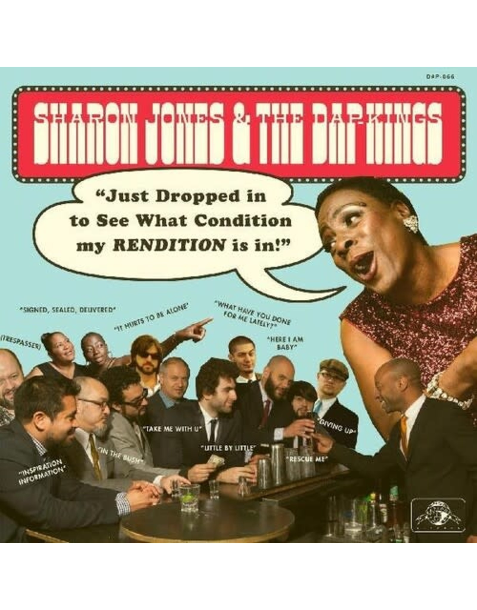 Jones, Sharon & Dapkings / Just Dropped In (To See What Condition My Rendition Was In)