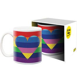 Pride Heart 11oz Mug