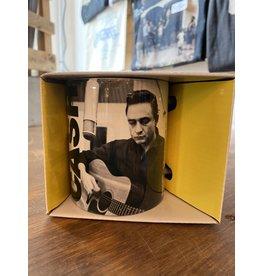 Johnny Cash Recording Mug