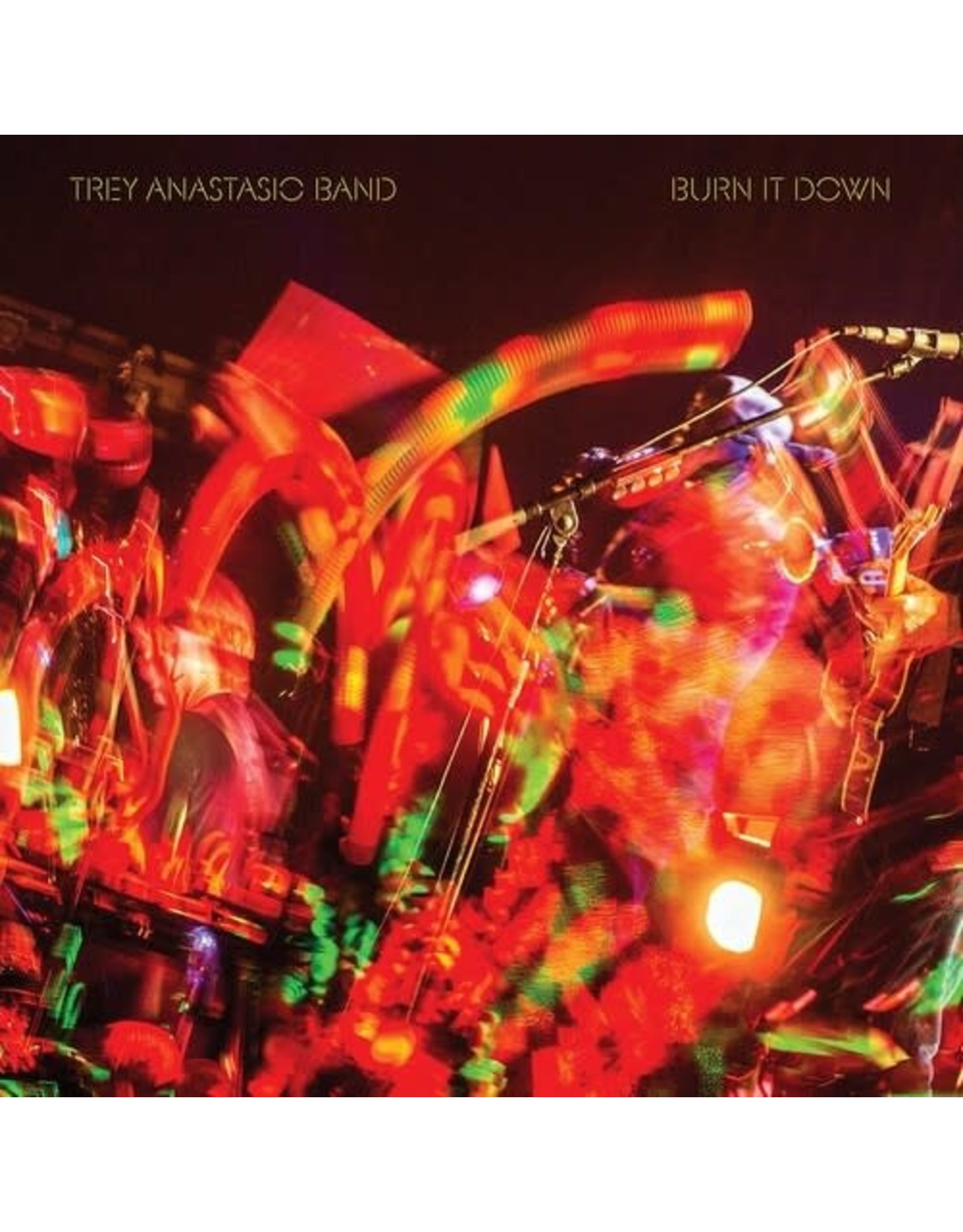 Anastasio, Trey Band / Burn It Down Live (Orange 3xLP)