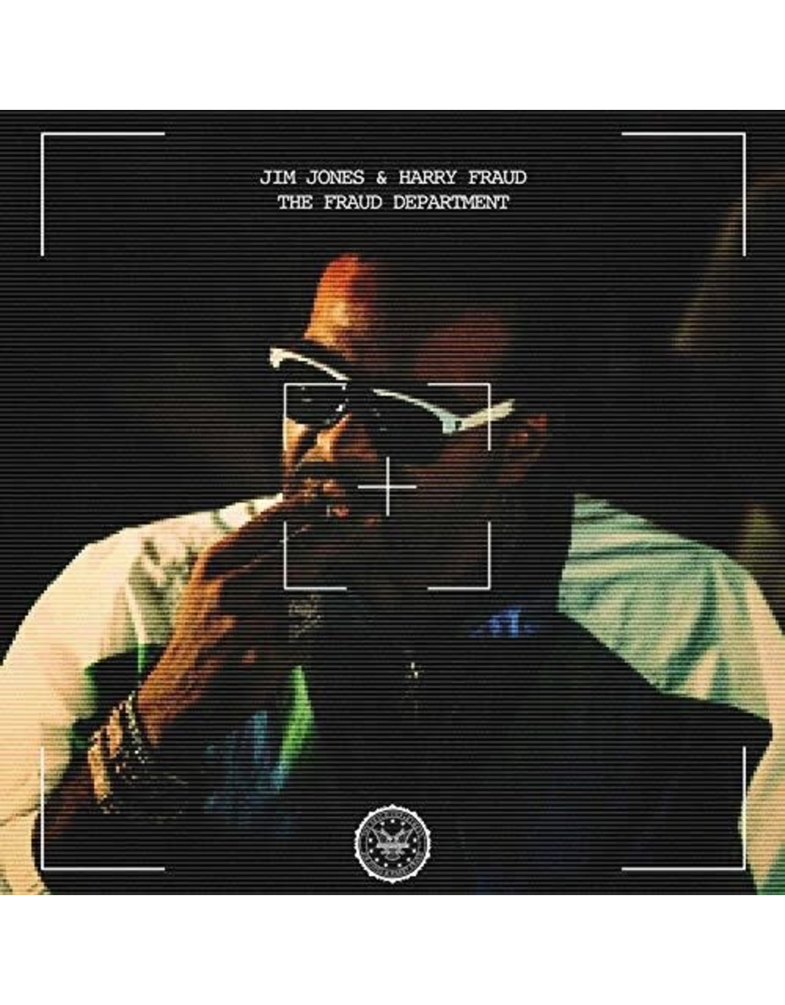 Jones, Jim / Fraud Department (Clear Vinyl)