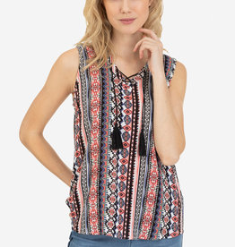Tribal Tasseled Blouse