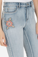 Tribal Embroidered Girlfriend Capri