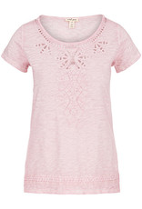 Tribal Cap Sleeve Embroidered Top