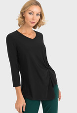Joseph Ribkoff Gathered Hem Top