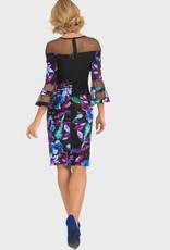 Joseph Ribkoff Floral Dress