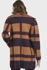Joseph Ribkoff Sunset Plaid Coat