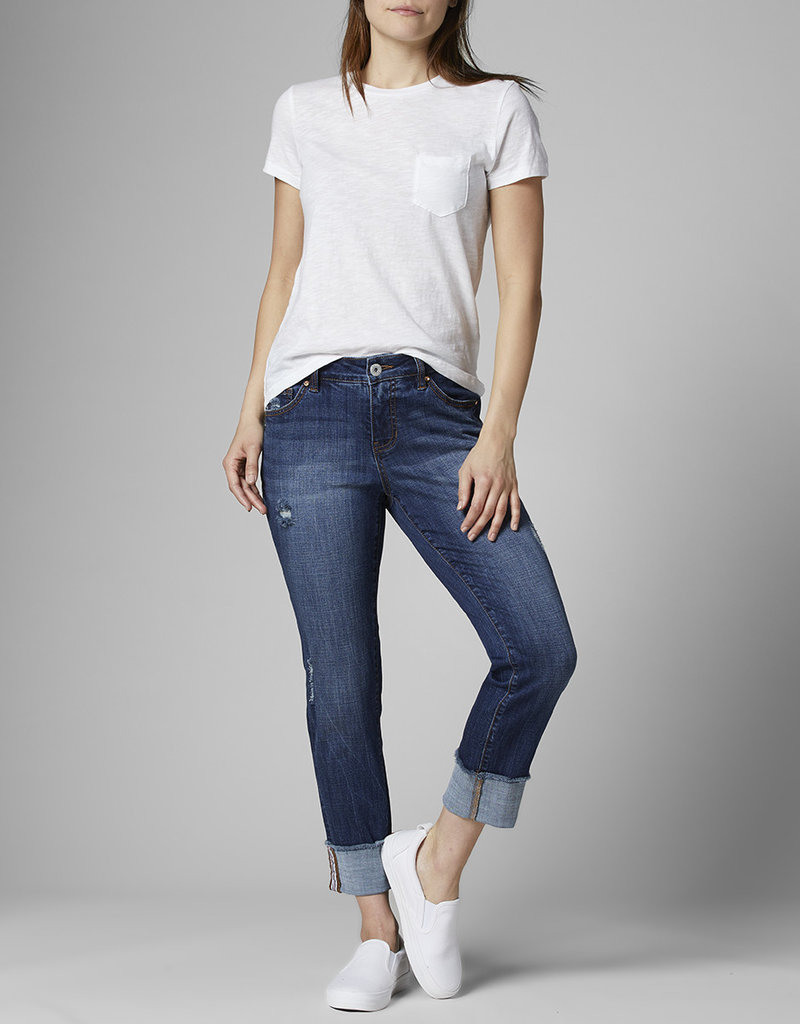 JAG JEANS Distressed Carter Girlfriend