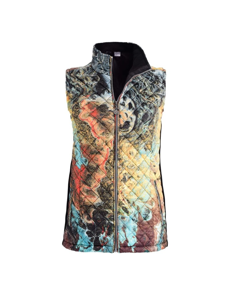 Dolcezza Muted Expression Quilted Vest