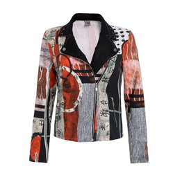 Dolcezza Asymetrical Zip Jacket