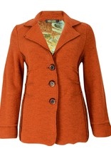 Dolcezza Burnt Orange Coat