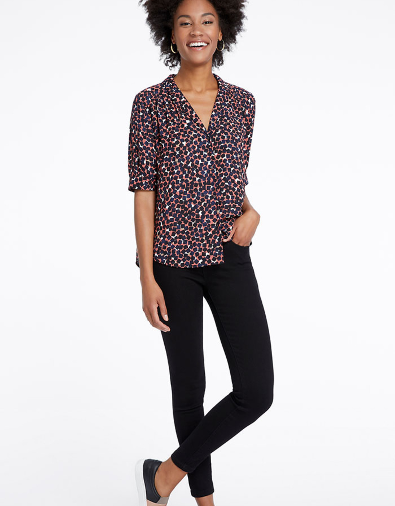 Nic & Zoe Mover and Shaker Blouse