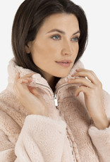 Tribal Faux Fur Coat