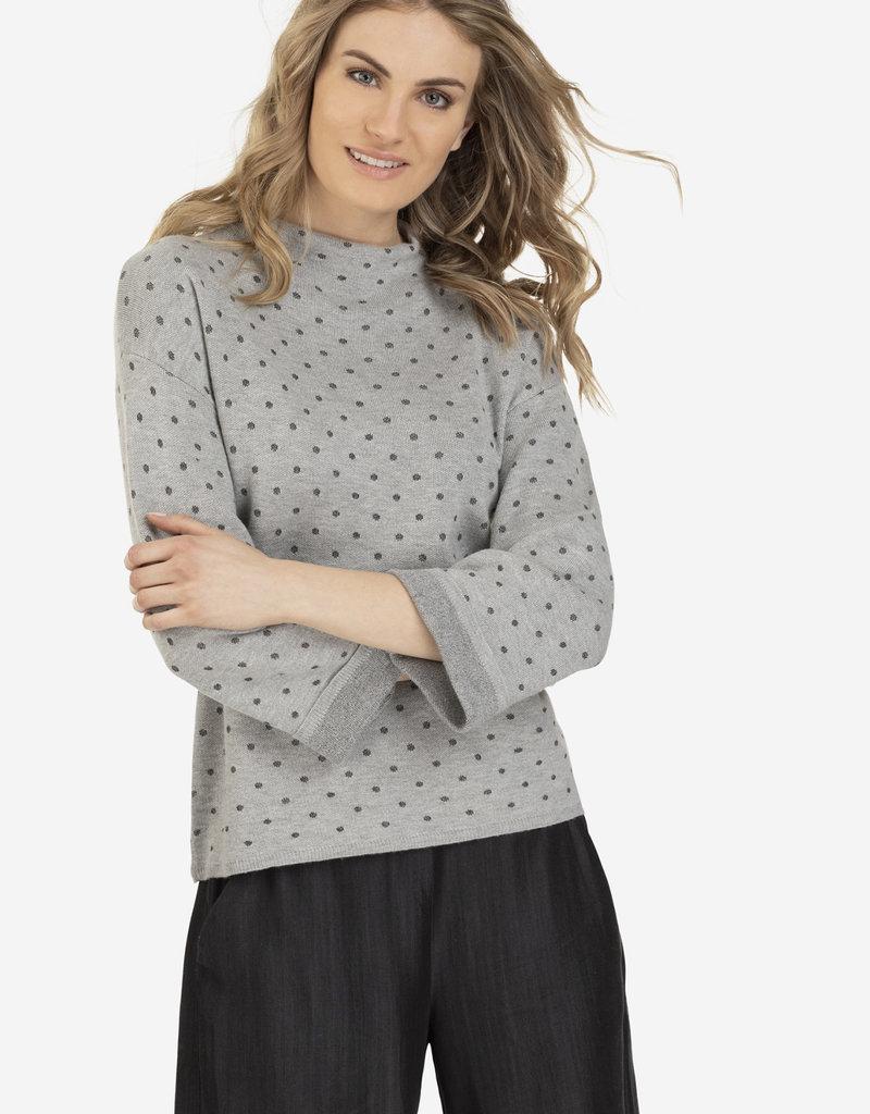 Tribal Lurex Polka Dot Sweater