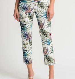 Joseph Ribkoff Palm Print Pant