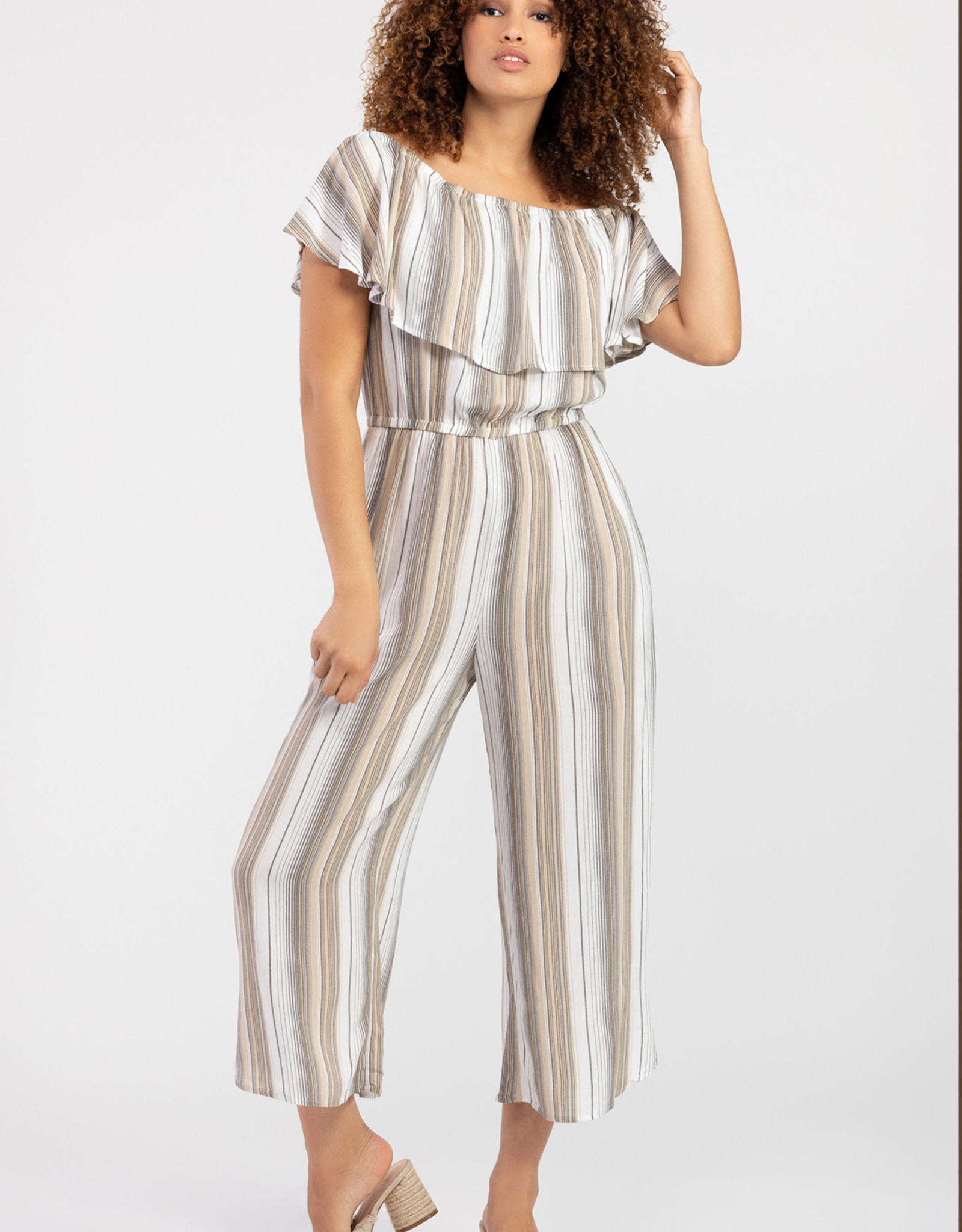 Tribal Stripe Jumpsuit