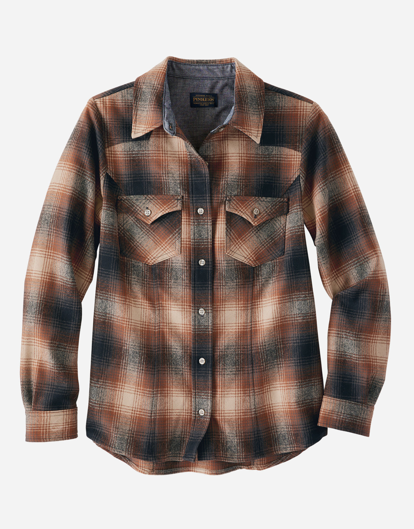 Pendleton Woolen Mills Shaniko Wool Western Shirt