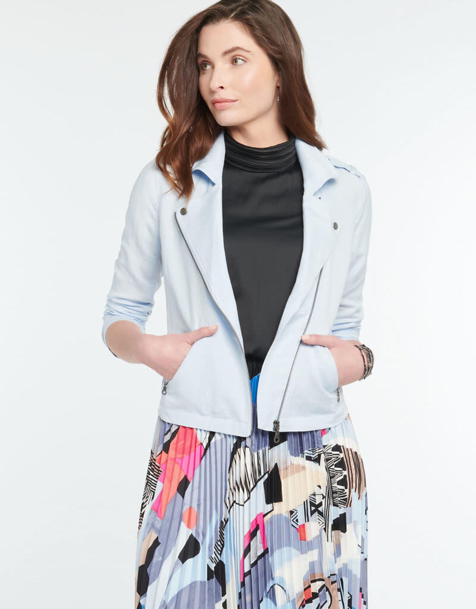 Nic & Zoe Linen Biker Jacket
