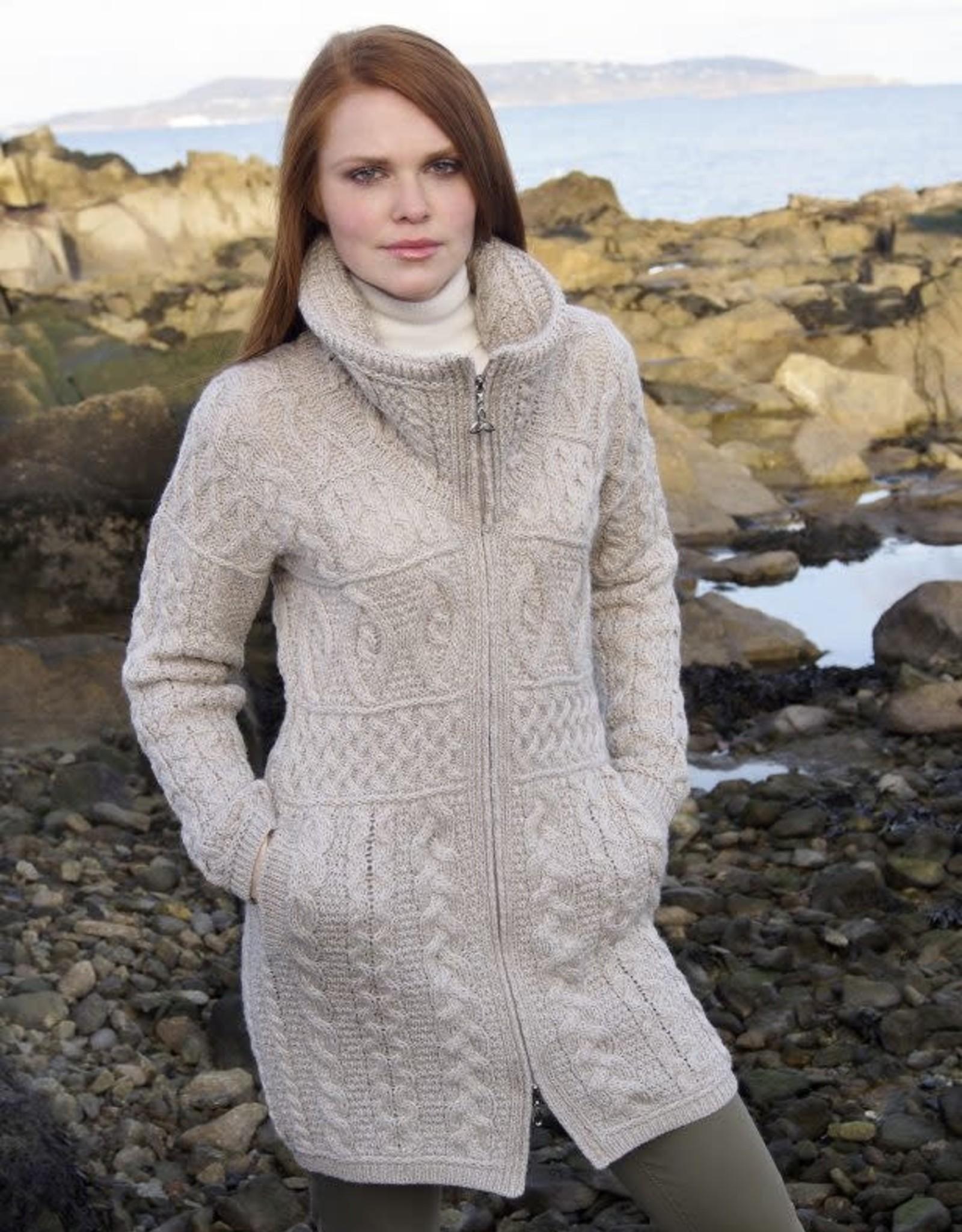 West End Knitwear Glendalough Double Collar Coat