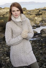 West End Knitwear Glendalough Double Collar Coat