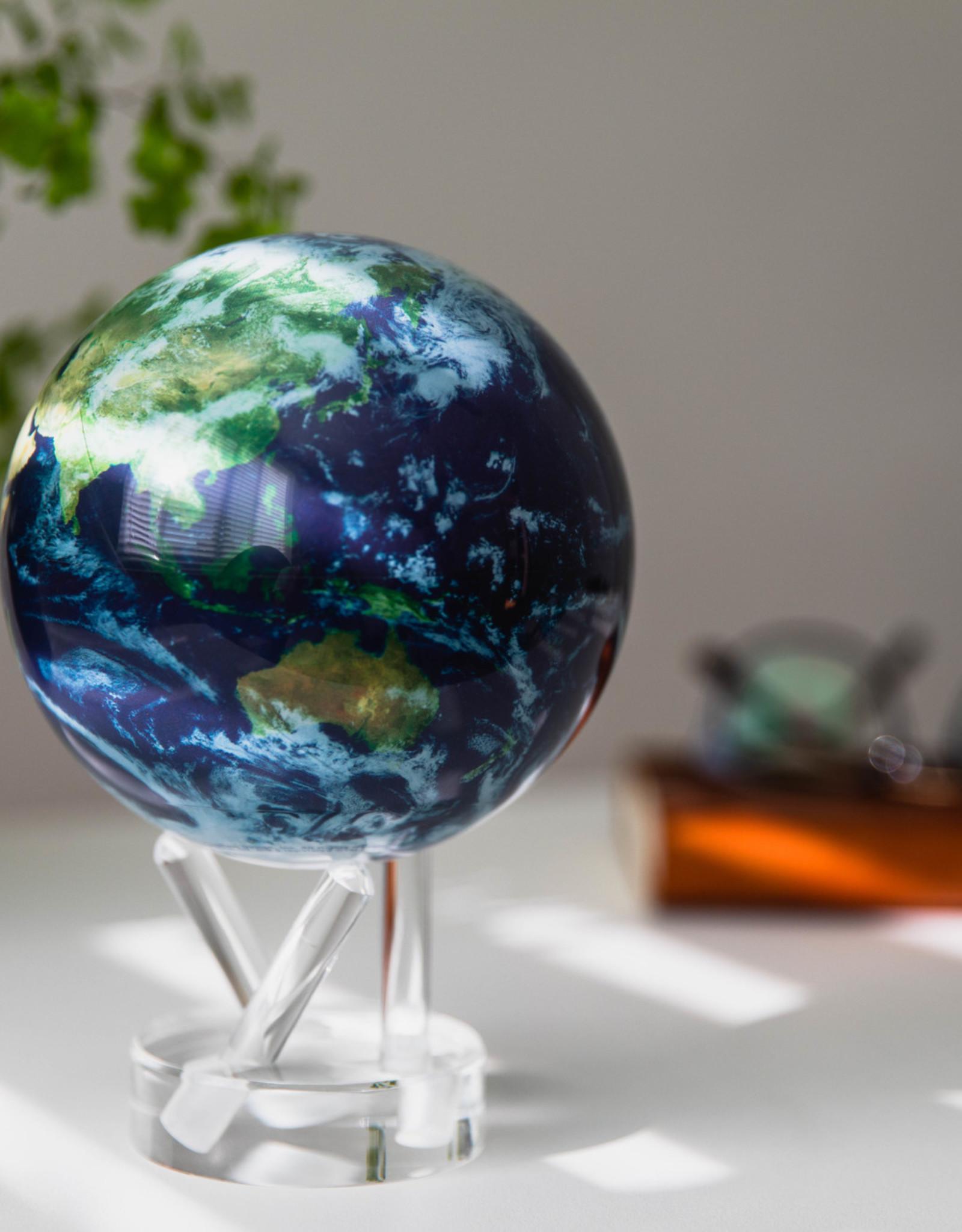 "Mova MOVA Earth with Clouds Globe  6"""