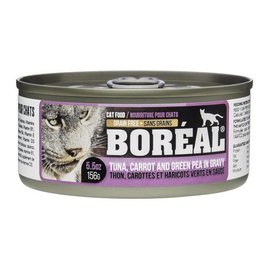 Boreal Boreal Cat Tuna in Gravy with Carrot and Pea - 5.5 oz