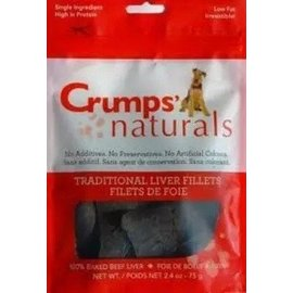 Crumps Crumps Traditional Liver Fillets 2.4oz / 75g