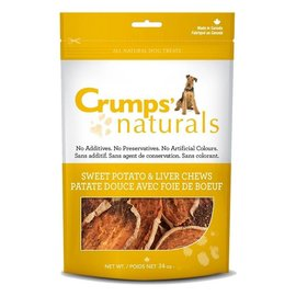 Crumps Crumps Sweet Potato & Liver Chews - 5.6 oz