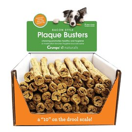 "Crumps Crumps' Dog Plaque Busters Bacon - 7"""