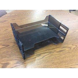 Black 2 tier paper tray (9/20/18)