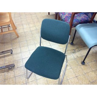 Green padded side chair 10/23/18