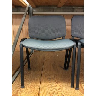 Grey padded side chair (11/7/18)