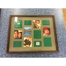 """16x20"""" Wood frame photo collection frame (11/2/18)"""