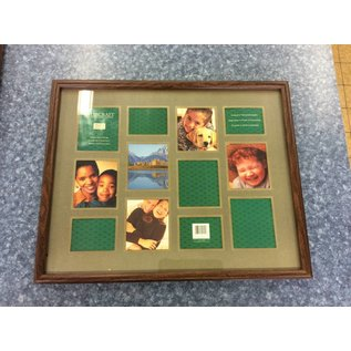 "16x20"" Wood frame photo collection frame (11/2/18)"