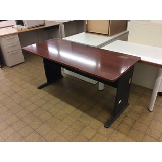 27x60x30 Wood top metal legs computer table (11/7/18)