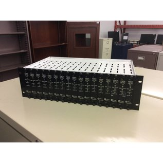 Fiber Options Fiber Optic TX Rack Unit w/modules (11/7/18)