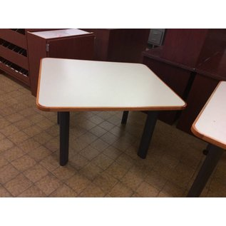 "36x42x25 3/4"" Table with metal legs (11/12/18)"