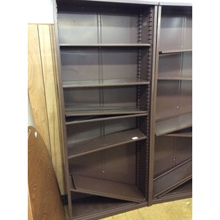 48x16x84 1/2 brown Metal Bookshelf 11/28/18